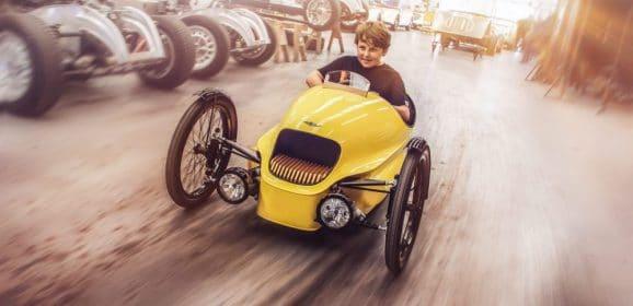 Morgan 3-Wheeler EV3 Junior : L'électrique pour les jeunes
