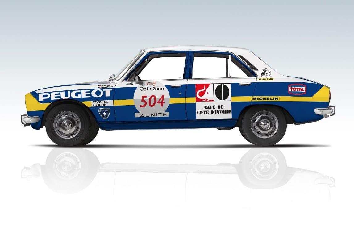 Peugeot 504 Tour Auto 2017