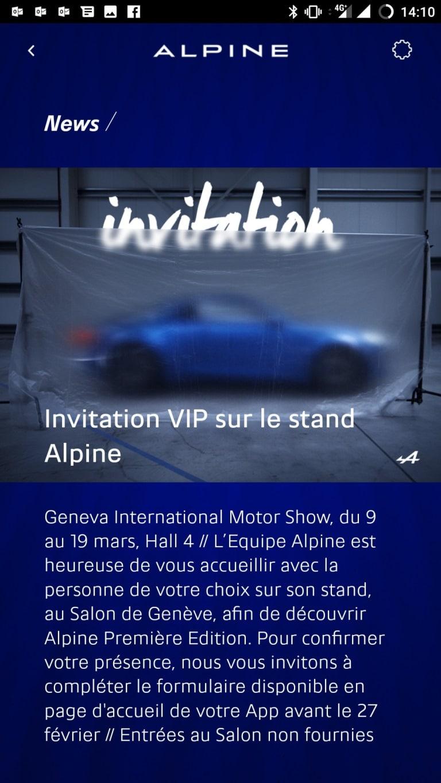 Invitation Alpine Genève 2017