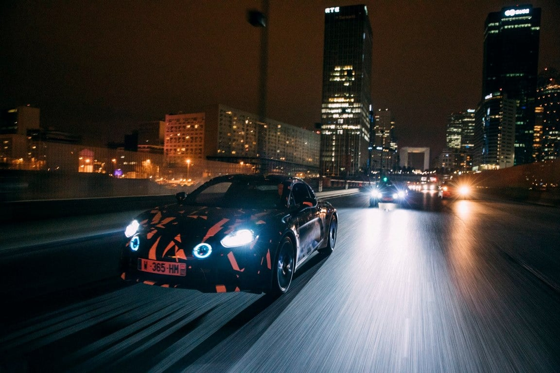 "Alpine AS110 : ""Paris by Nite"""