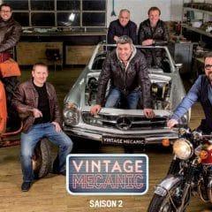 Vintage Garage devient Vintage Mecanic pour la saison 2 à partir du 15 mars prochain
