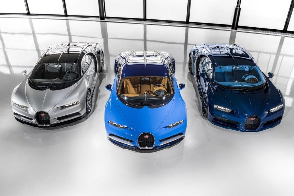 Livraison des premières Bugatti Chiron - Molsheim
