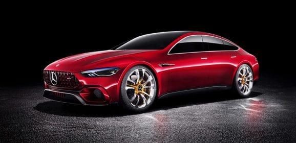 Mercedes-AMG GT Concept : Berline hybride de 800 ch anti Panamera