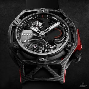Hublot Techframe Ferrari 70 Years – Tourbillon