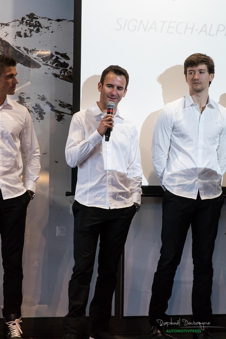Signatech Alpine - Romain Dumas - Raphael Dauvergne