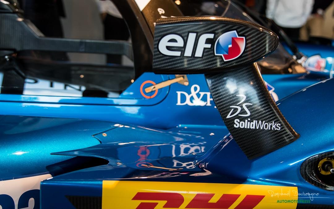 Alpine A470 2017 LMP2 FIA WEC - Signatech Alpine - Raphael Dauvergne