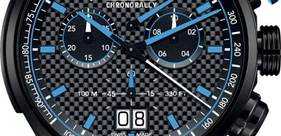 "Edox Chronorally Sauber F1 Team Limited Edition 2017 : ""Racing Blue spirit"""