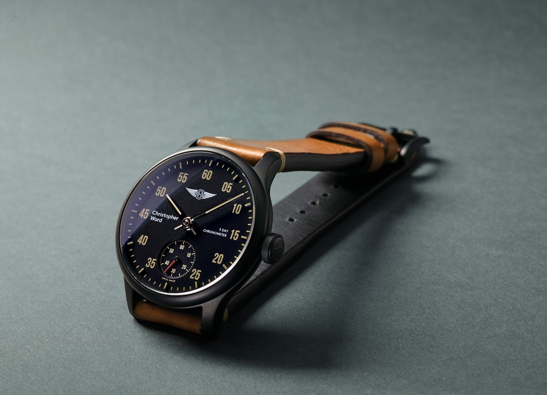 Christopher Ward C1 Morgan 3 Wheeler Chronometer