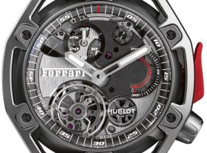 Hublot Techframe Ferrari 70 Years – Tourbillon Chronograph