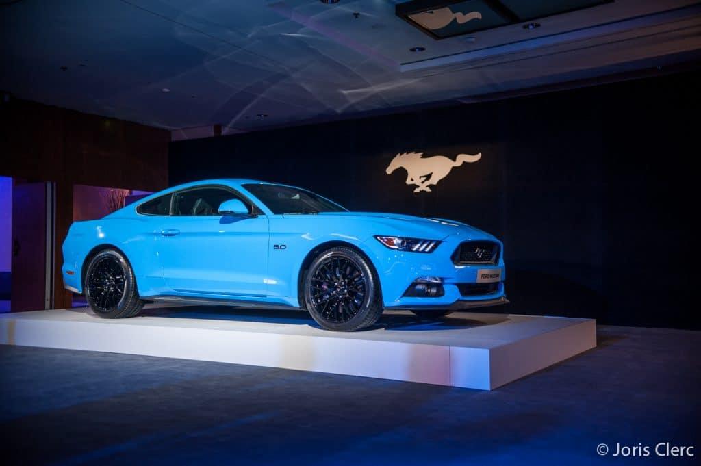 Ford Mustang 5.0L - Genève 2017 - Joris Clerc