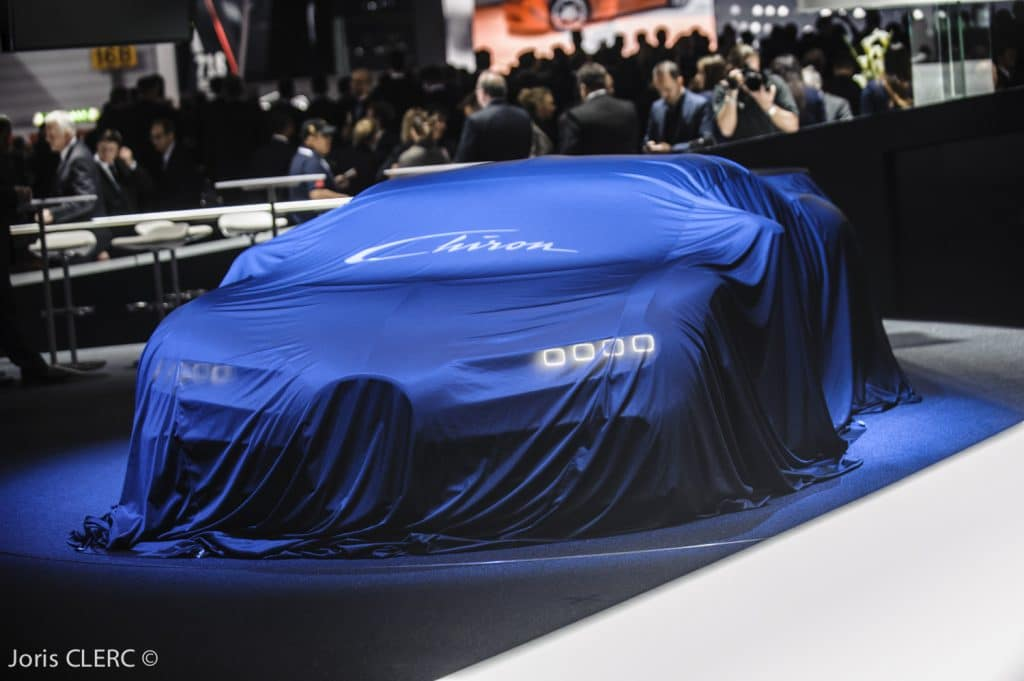 Bugatti Chiron - Salon de Genève 2016 - Joris Clerc