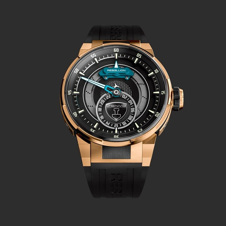 Rebellion Timepieces Predator 2.0 GMT Zenvo