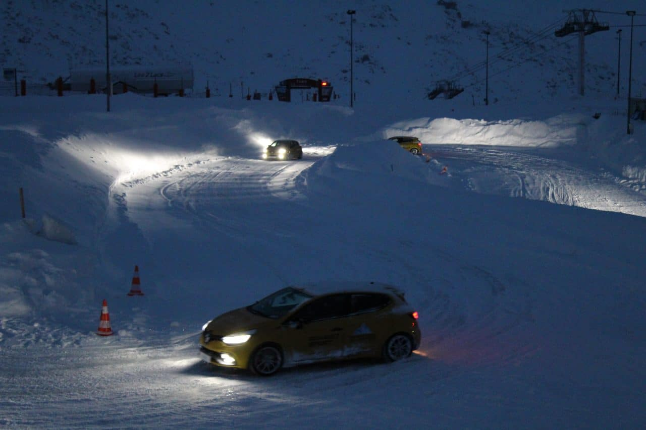 Renault Sport Clio RS Trophy Ice Driving Experience