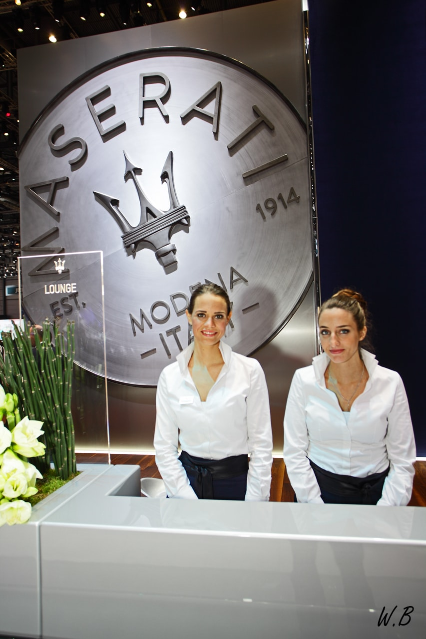 Hôtesses Salon de Genève 2017
