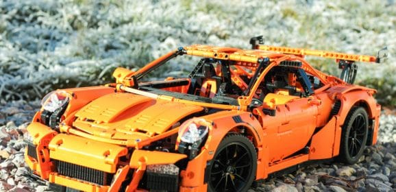 J'ai construit ma Porsche 911 GT3 RS !