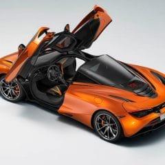 McLaren 720S : Instrumentation motorisée…