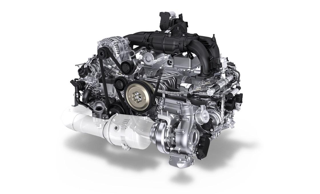 Porsche-718-Cayman-flat4-engine