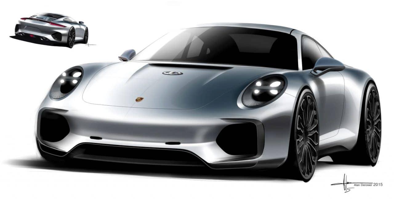 Porsche 992 front Alan Derosier