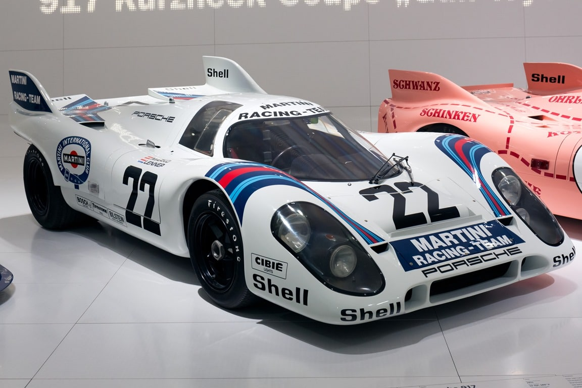 Porsche 917K (Martini) - Porsche Museum