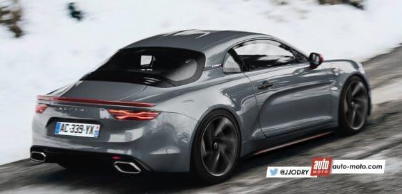 Alpine A110 2017 : Une version méchante et un cabriolet à venir ?
