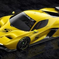 Fittipaldi Motors : Fittipaldi EF7 Vision Gran Turismo by Pininfarina