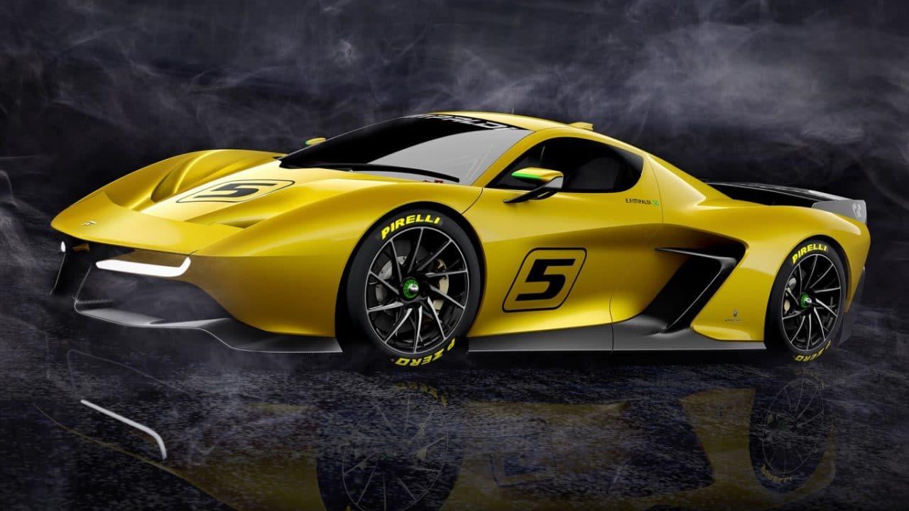 Fittipaldi Motors – Fittipaldi EF7 Vision Gran Turismo by Pininfarina