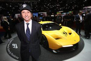 Emerson Fittipaldi - Salon de Genève 2017