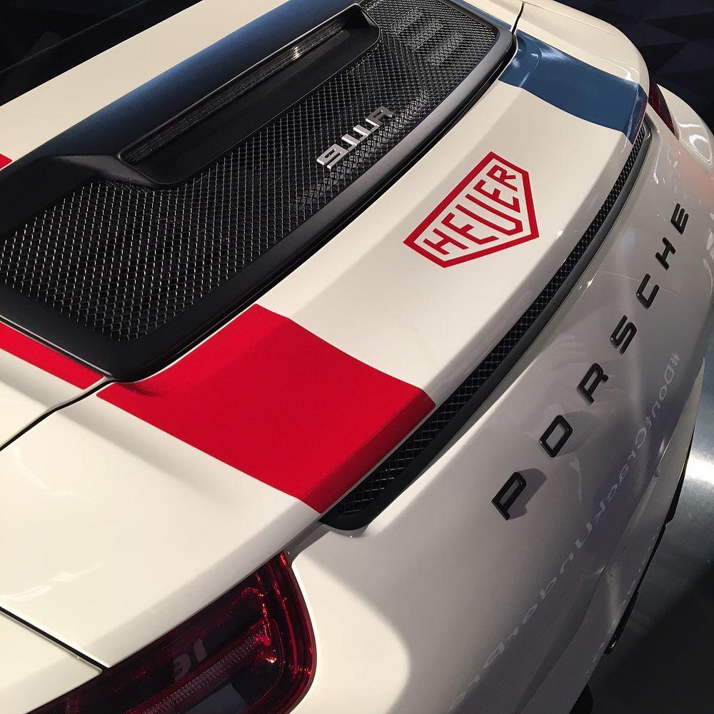 Porsche 911 R Heuer by TAG Heuer