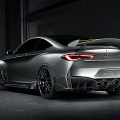 Infiniti Q60 Project Black S, l'alternative nippone !