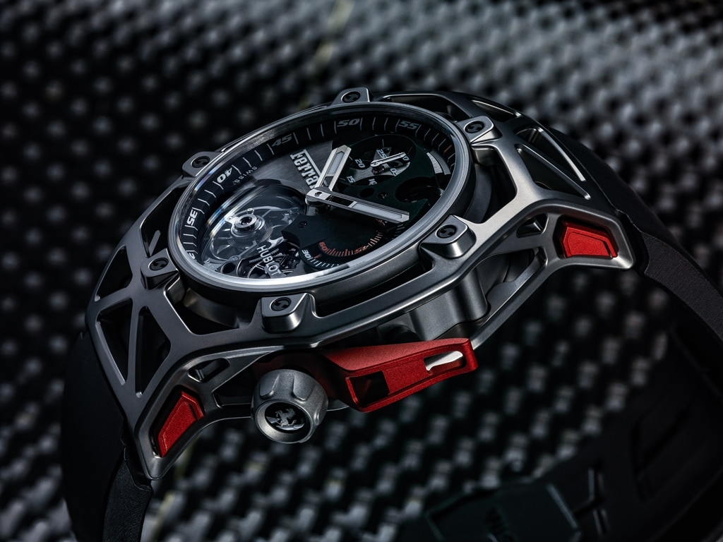 hublot techframe ferrari 70 years tourbillon chronographe. Black Bedroom Furniture Sets. Home Design Ideas