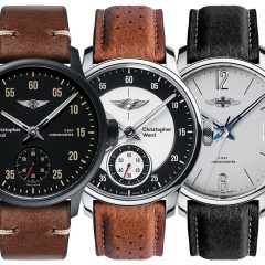 Christopher Ward C1 Morgan Chronometers : Alliance du charme et de l'authenticité britanniques