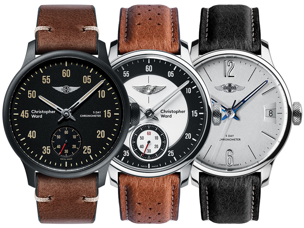 Christopher Ward C1 Morgan Chronometers