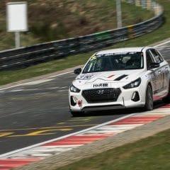 Hyundai i30 label N en test sur le circuit du Nürburgring