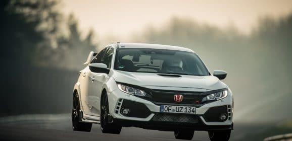 """Honda Civic Type R : Nouveau record sur le Nürburgring catégorie """"traction"""""""