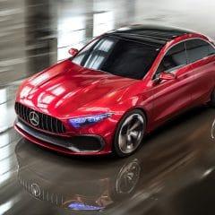 Mercedes Concept A Sedan : Classe A V2.0