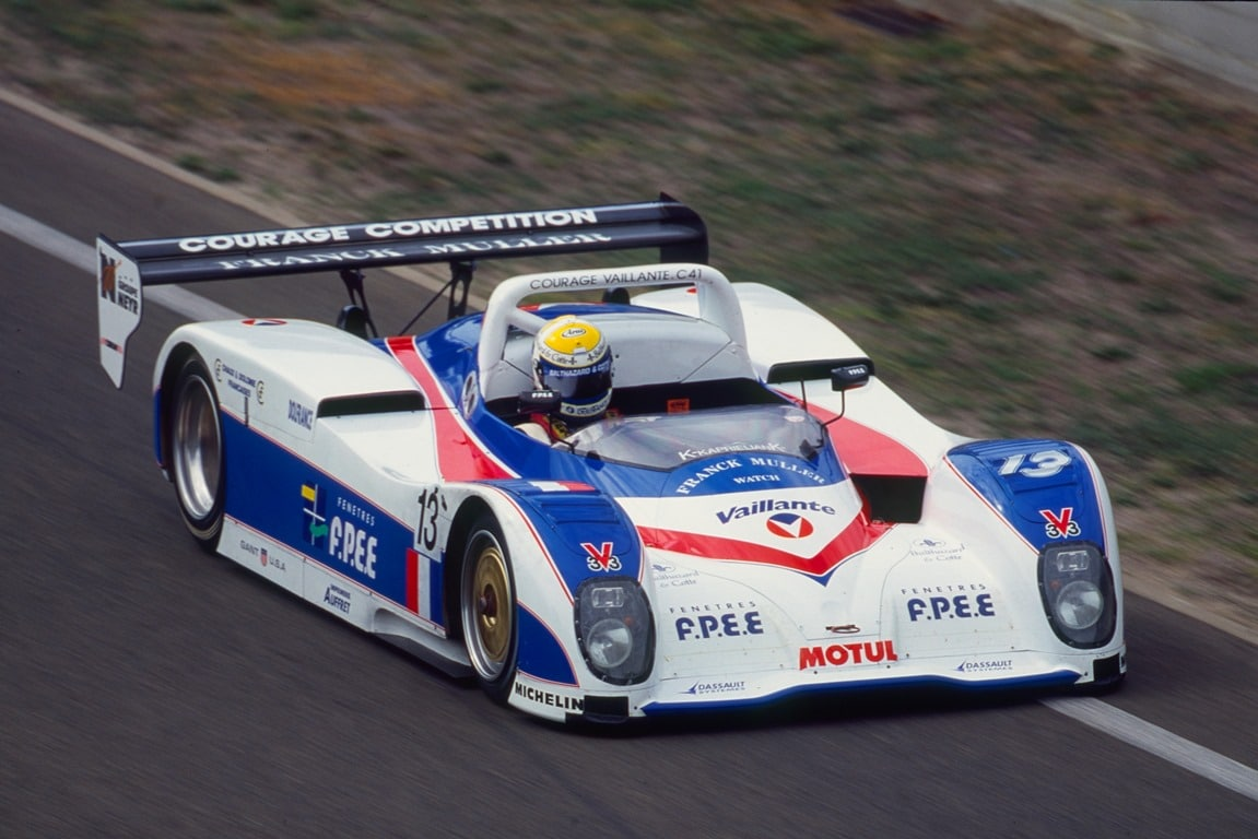 Courage Vaillante C4 - 24 HEURES DU MANS 1997 - Photo : DPPI