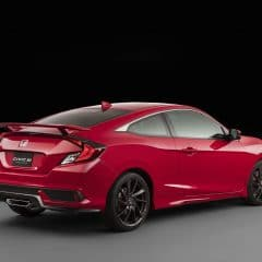 Honda Civic Si : Coupé dynamique de plus de 200 ch