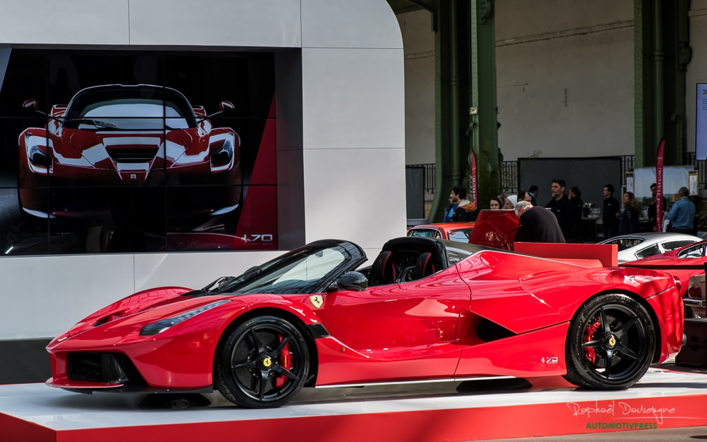 Tour Auto 2017 – Grand Palais – Ferrari LaFerrari Aperta – Raphael Dauvergne