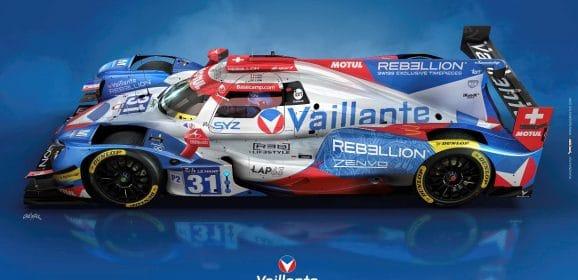 Vaillante Rebellion : Nouveau design pour les 24 Heures du Mans !