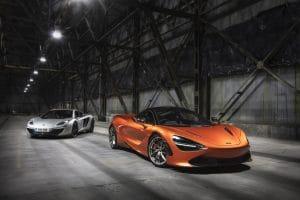 McLaren 720S et 12C
