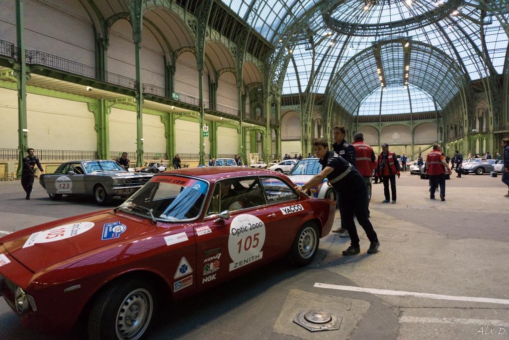 Tour Auto 2017 – Départ du Grand Palais