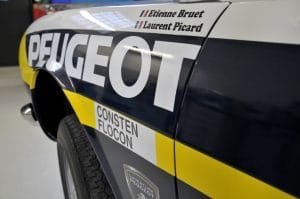 Peugeot berline 504 Tour Auto 2017 - Retromobile 2017