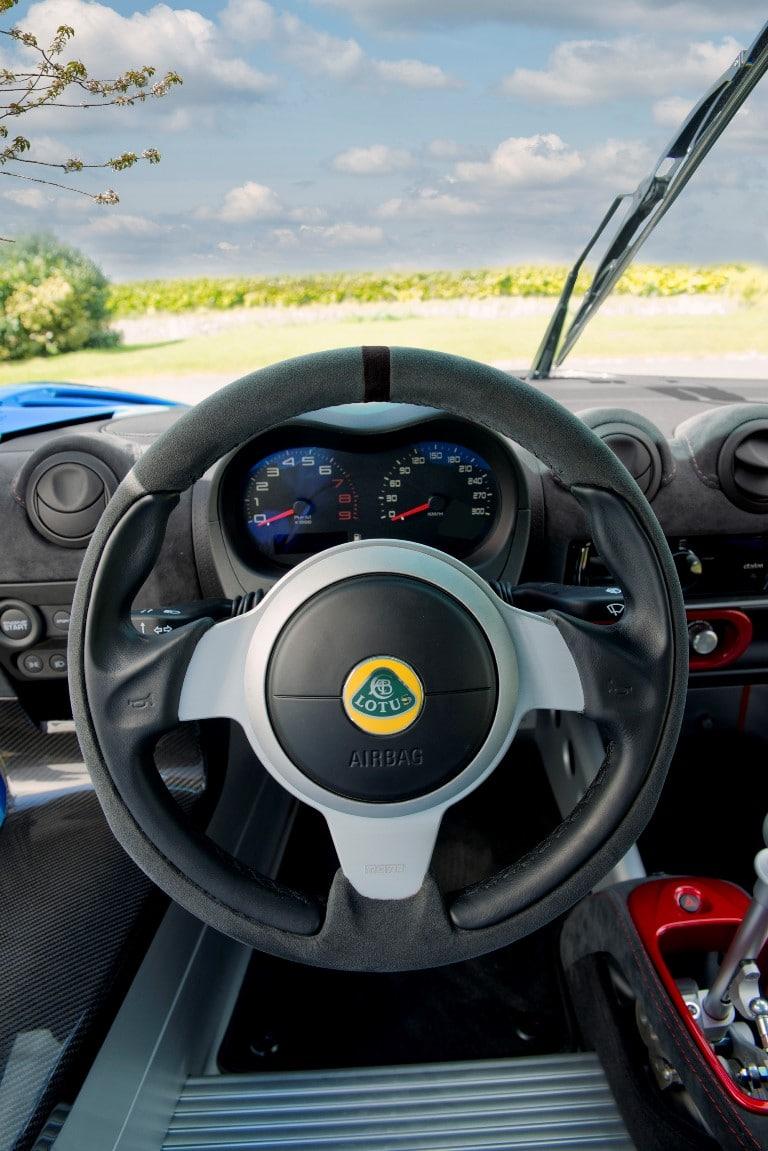 Exige Cup 380 Steering Wheel