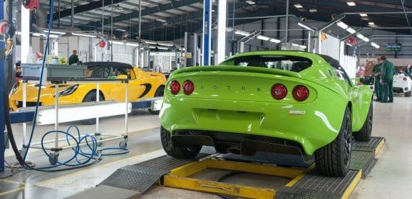 Pèlerinage à Hethel, chapitre 1: Visite de l'usine Lotus Cars