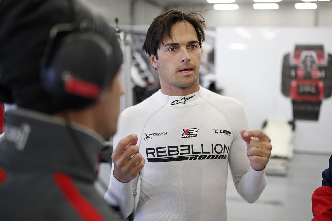 PIQUET Nelson jr (bra), Oreca 07 Gibson team Vaillante Rebellion