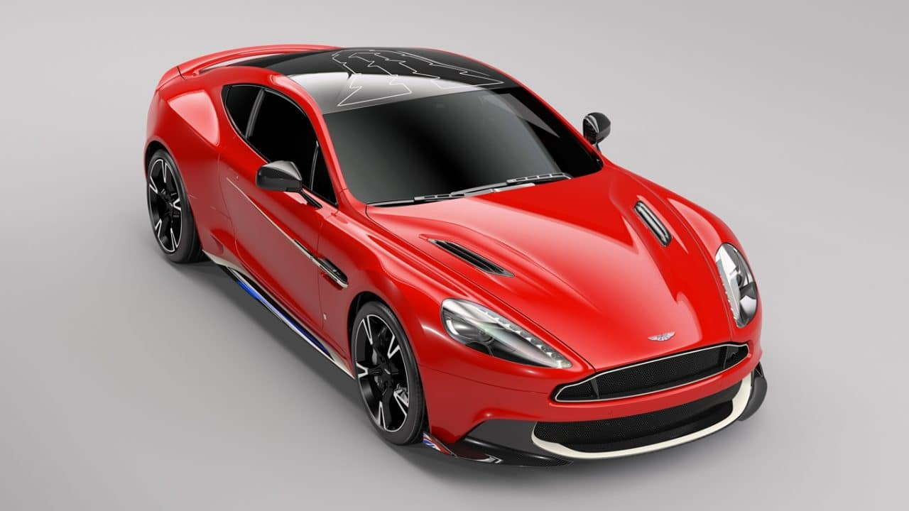 Aston Martin Vanquish S Red Arrows Edition by Q