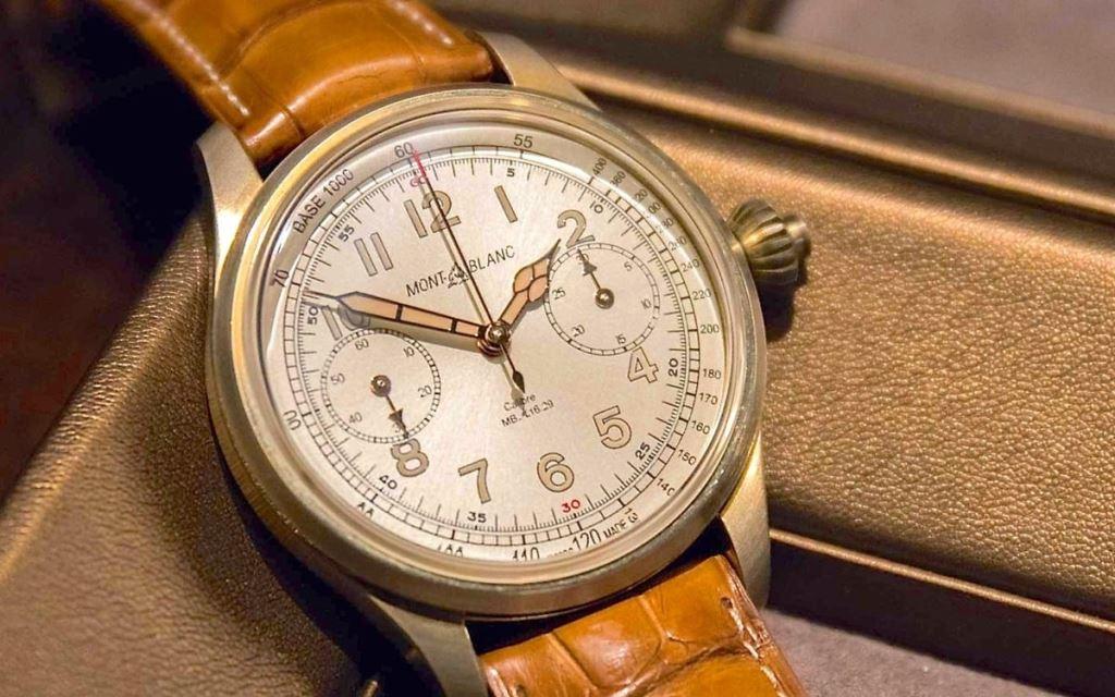 Montblanc 1858 Chronograph Tachymeter Édition Limitée