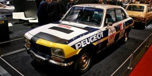 Peugeot berline 504 Tour Auto 2017 - Retromobile 2017