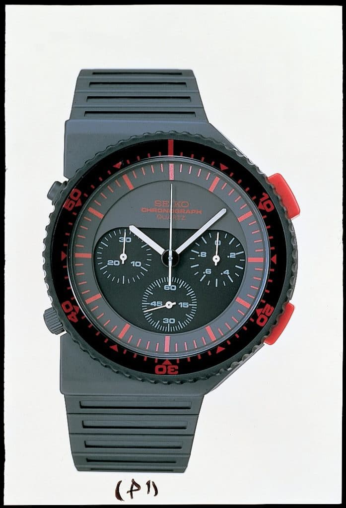 Chronographe Seiko 1983 (7A28-6000/7A28-7000) - Aliens