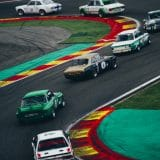 Spa Classic 2017, Heritage Touring Cup : Ford Capri 2600 RS devant BMW